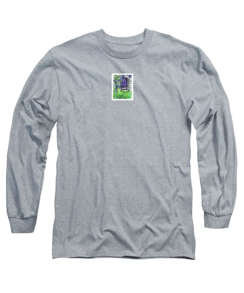 Purple Doorway Long Sleeve T-Shirt