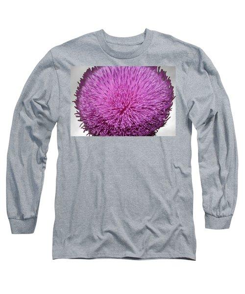 Purple Elegance Long Sleeve T-Shirt