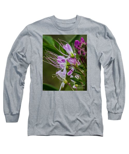 Purple Flower 6 Long Sleeve T-Shirt