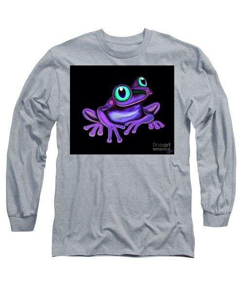 Purple Frog  Long Sleeve T-Shirt
