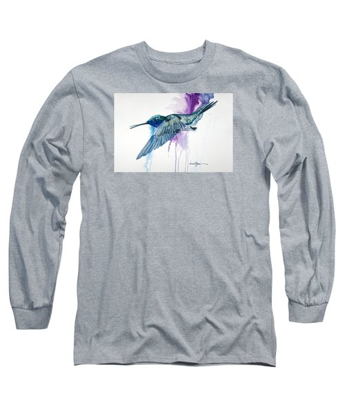 Da182 Purple Haze Daniel Adams Long Sleeve T-Shirt