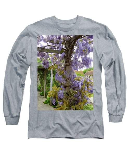 Purple In Priory Park Long Sleeve T-Shirt