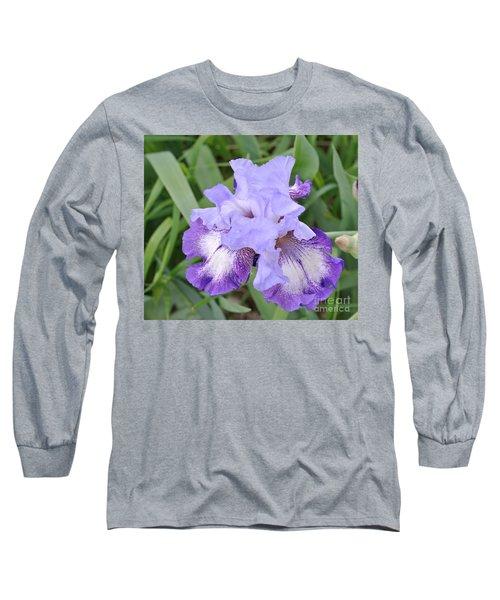 Purple Love Long Sleeve T-Shirt by Marsha Heiken