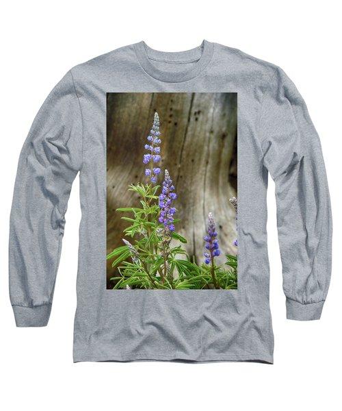 Purple Lupine Long Sleeve T-Shirt