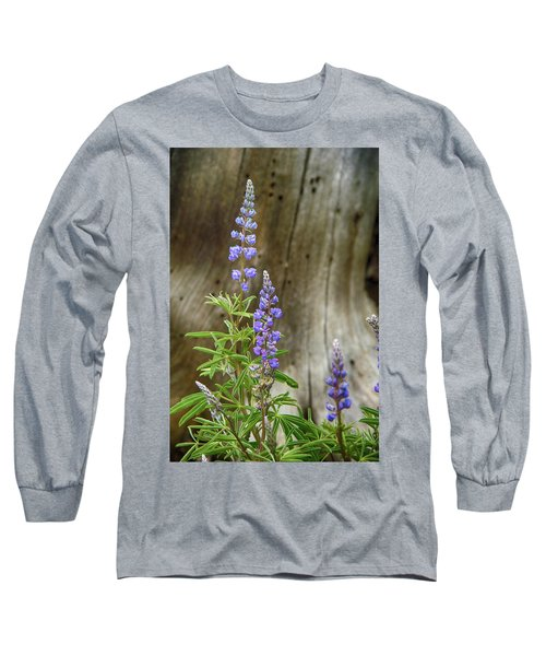 Purple Lupine Long Sleeve T-Shirt