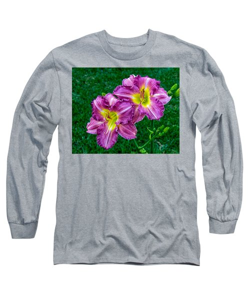 Purple Pair Long Sleeve T-Shirt