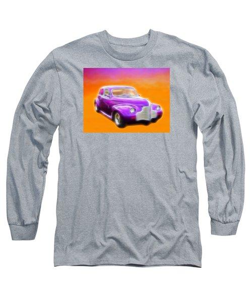 Purple Shadow Cruiser Long Sleeve T-Shirt