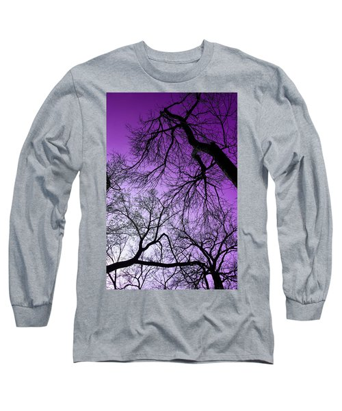 Purple Sky Long Sleeve T-Shirt