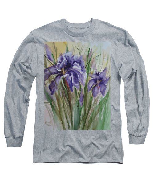 Purple Times 3 Long Sleeve T-Shirt
