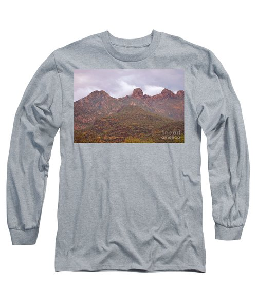 Pusch Ridge Tucson Arizona Long Sleeve T-Shirt