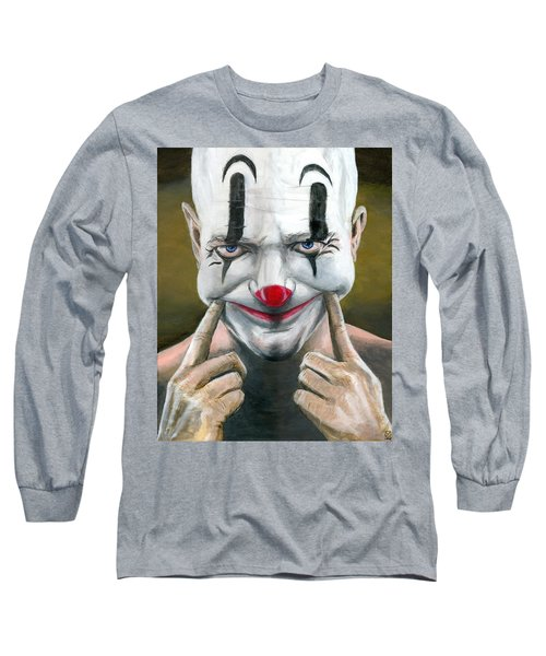 Put On A Happy Face Long Sleeve T-Shirt