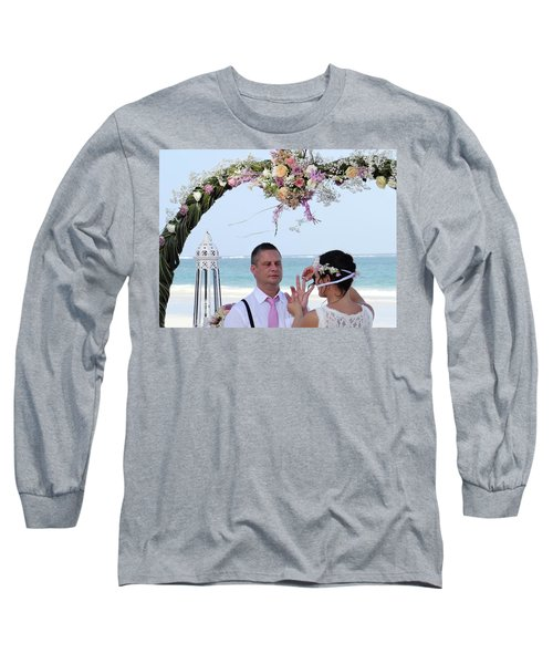 Putting On The Ring Long Sleeve T-Shirt