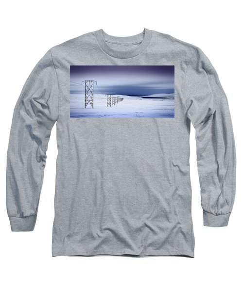 Pylons, Iceland Long Sleeve T-Shirt