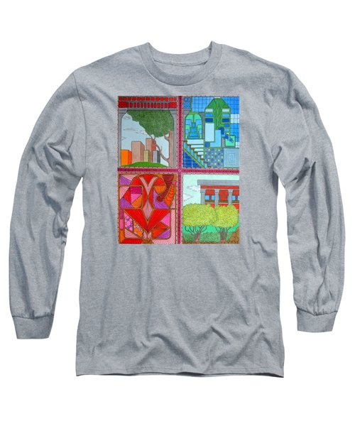 Quadrants Long Sleeve T-Shirt