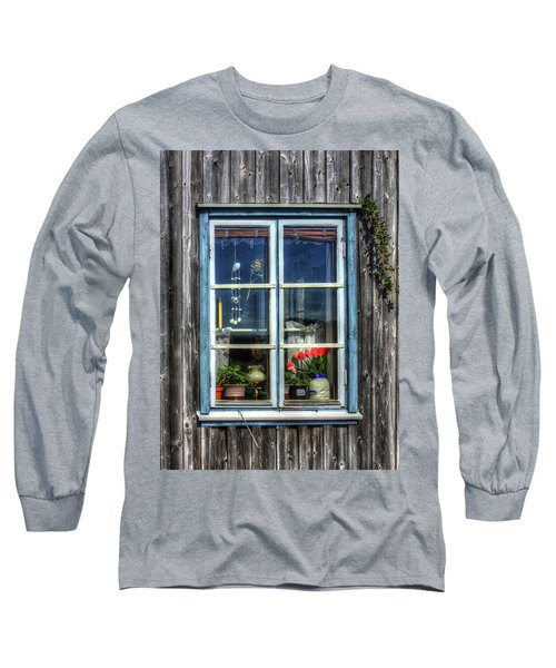 Quaint Window Long Sleeve T-Shirt