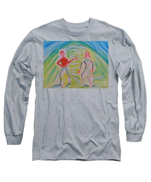 Quantum Entanglement Long Sleeve T-Shirt