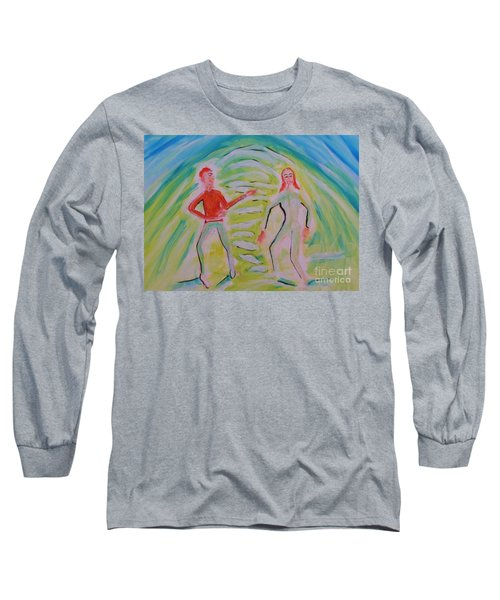 Quantum Entanglement Long Sleeve T-Shirt