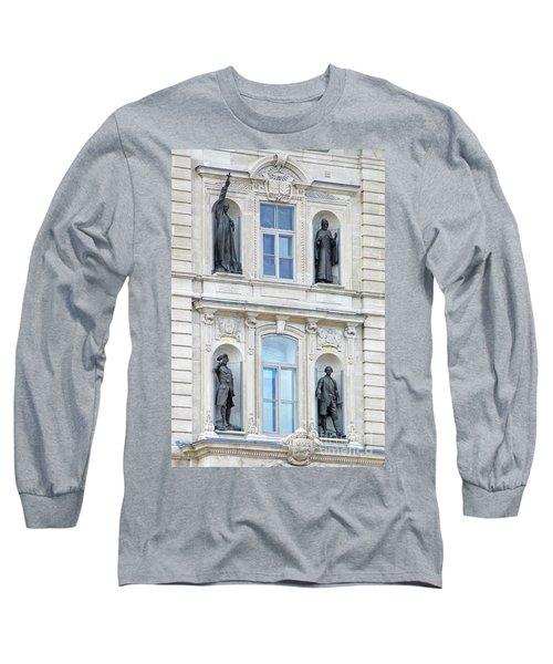 Quebec City 76 Long Sleeve T-Shirt