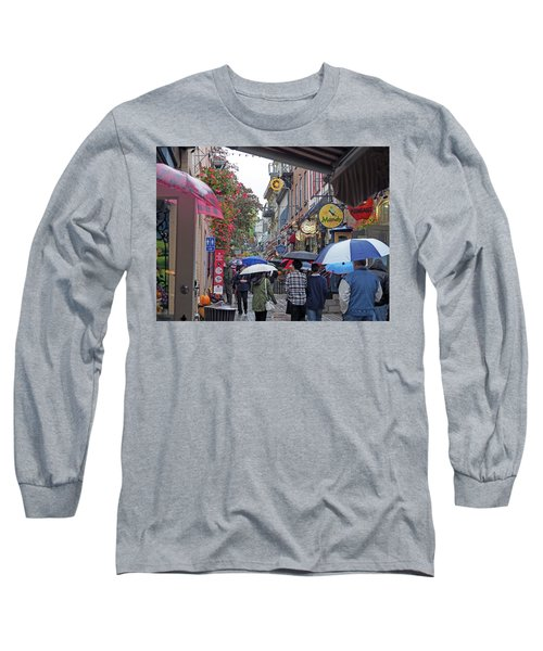 Quebec City Long Sleeve T-Shirt