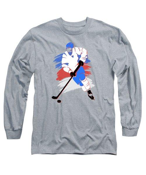 Quebec Nordiques Player Shirt Long Sleeve T-Shirt