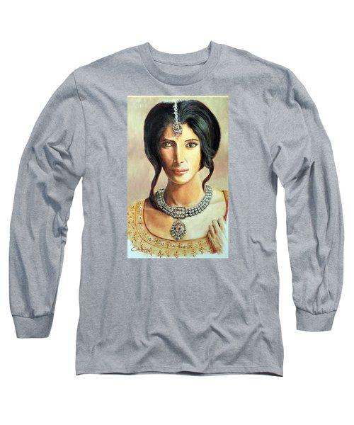 Queen Vashti Long Sleeve T-Shirt by G Cuffia