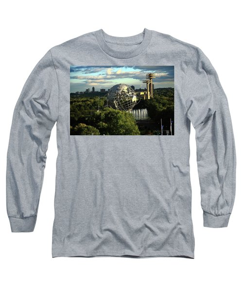 Queens New York City - Unisphere Long Sleeve T-Shirt