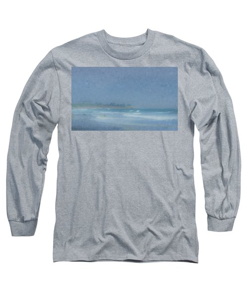 Foggy Afternoon At Little Compton Ri Long Sleeve T-Shirt