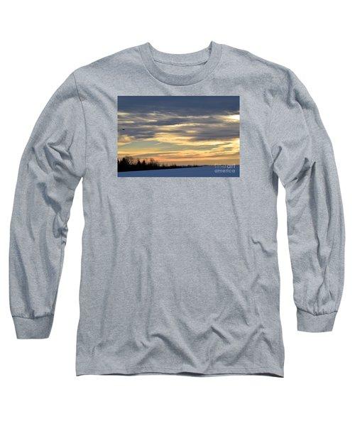 Quiet Morning Long Sleeve T-Shirt