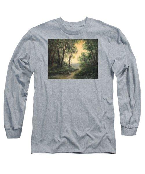 Quiet Stream  Long Sleeve T-Shirt