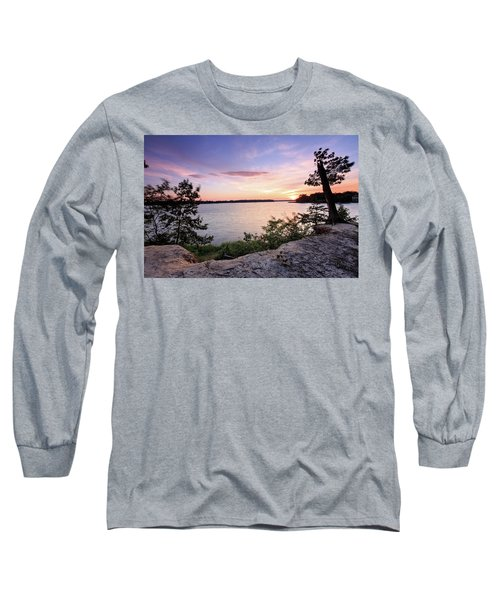 Long Sleeve T-Shirt featuring the photograph Quiet Sunset by Jennifer Casey