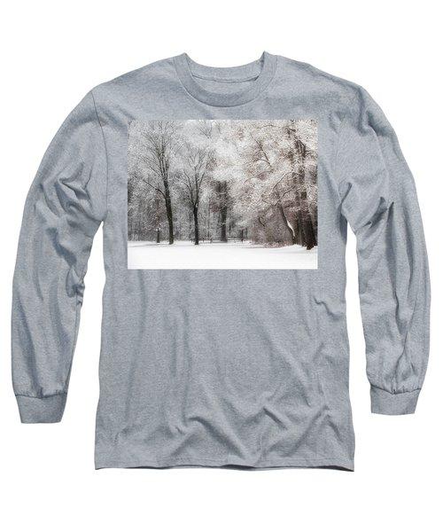Quiet Winter  Long Sleeve T-Shirt