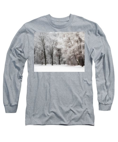 Quiet Winter  Long Sleeve T-Shirt