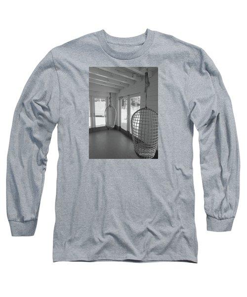 Quietude Long Sleeve T-Shirt by Beth Saffer
