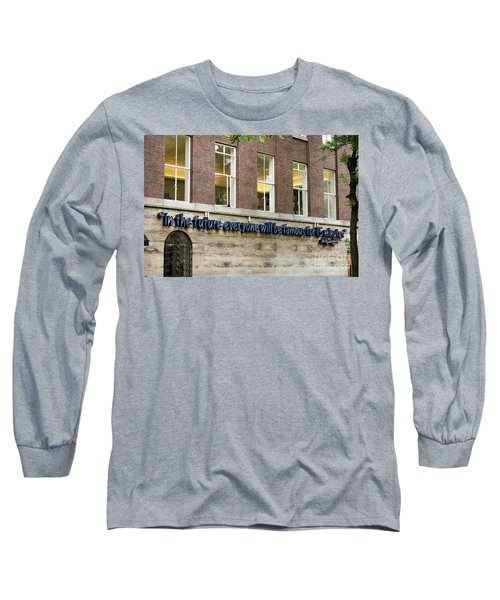 Long Sleeve T-Shirt featuring the photograph Quote Of Warhol 15 Minutes Of Fame by RicardMN Photography