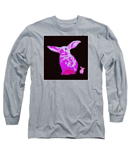 Rabbit Long Sleeve T-Shirt by James Bethanis