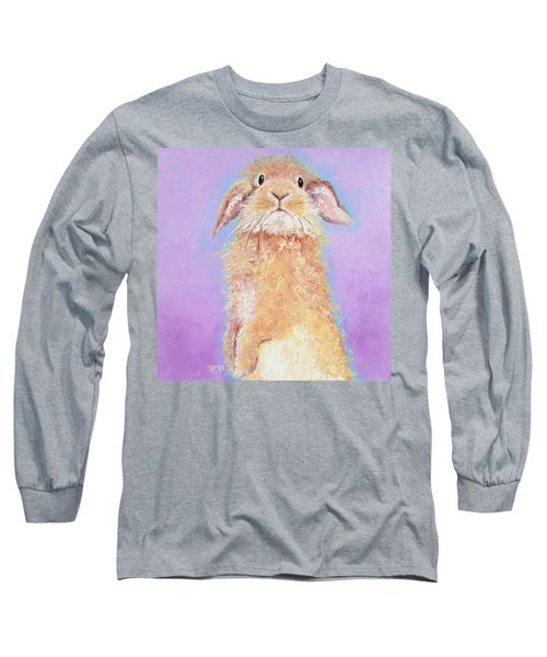 Rabbit Painting - Babu Long Sleeve T-Shirt