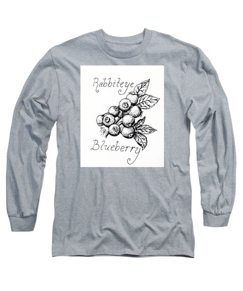 Rabbiteye Blueberry Long Sleeve T-Shirt