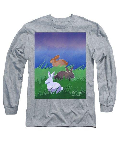 Rabbits Rabbits Rabbits Long Sleeve T-Shirt