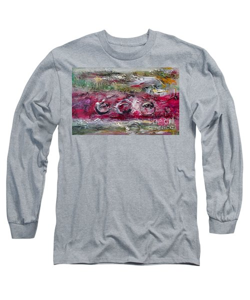 Racing Long Sleeve T-Shirt by Ellen Anthony