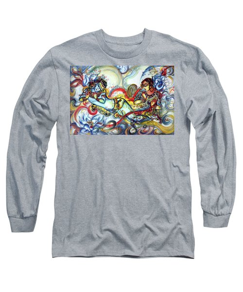 Radha Krishna - Flute - Love Long Sleeve T-Shirt