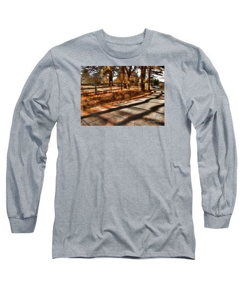Long Sleeve T-Shirt featuring the photograph Radiating by Betsy Zimmerli