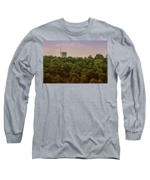 Radioactive Landscape Long Sleeve T-Shirt