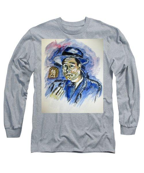 Radio's Sam Spade Long Sleeve T-Shirt by Clyde J Kell