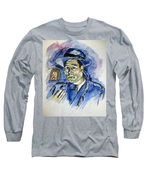 Radio's Sam Spade Long Sleeve T-Shirt