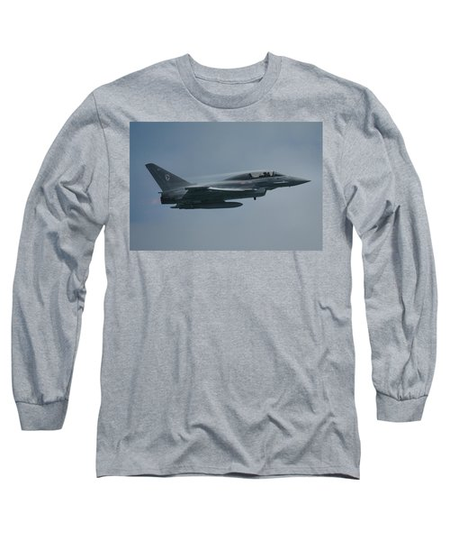 Long Sleeve T-Shirt featuring the photograph Raf Eurofighter Typhoon T1  by Tim Beach