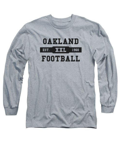 Raiders Retro Shirt Long Sleeve T-Shirt