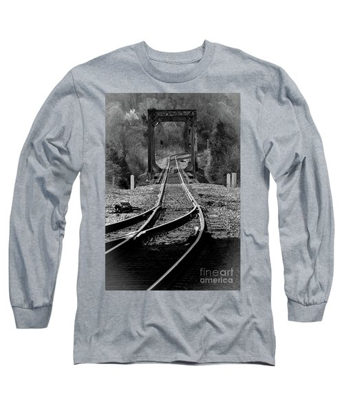 Rails Long Sleeve T-Shirt by Douglas Stucky