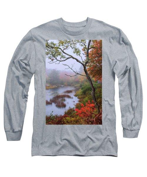 Long Sleeve T-Shirt featuring the photograph Rain by Chad Dutson