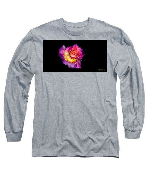 Rain-melted Rose Long Sleeve T-Shirt