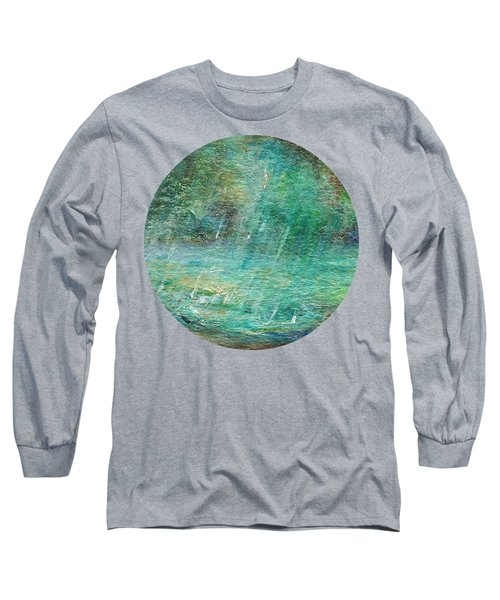 Rain On The Pond Long Sleeve T-Shirt